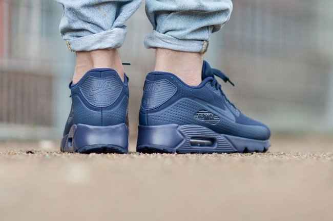 best service 3c28b 50c21 nike air max 90 ultra moire midnight navy
