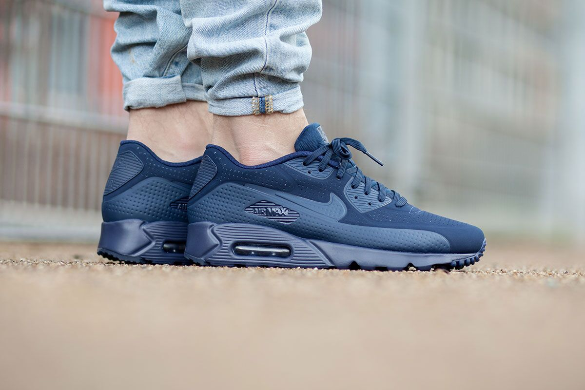 7dd09de5 Nike Air Max 90 Ultra Moire Midnight Navy - Air 23 - Air Jordan ...