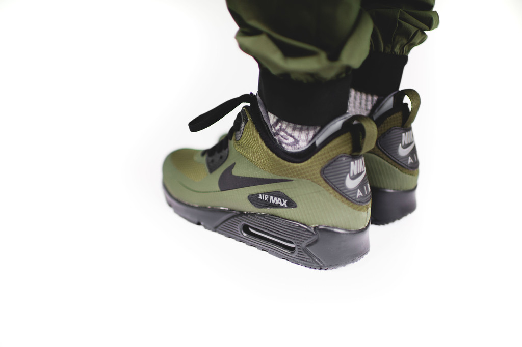 f2c670b79419f5 Nike Air Max 90 Mid Winter - Dark Loden   Black - Air 23 - Air ...