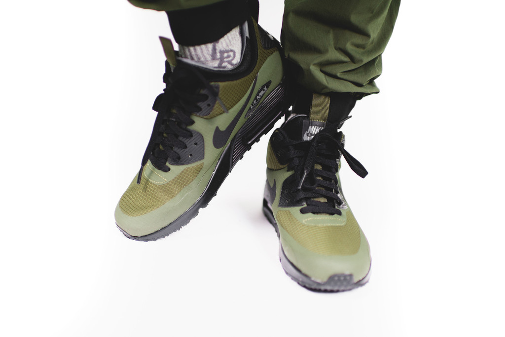 Nike Air Max 90 Mid Winter Dark Loden Black Air 23