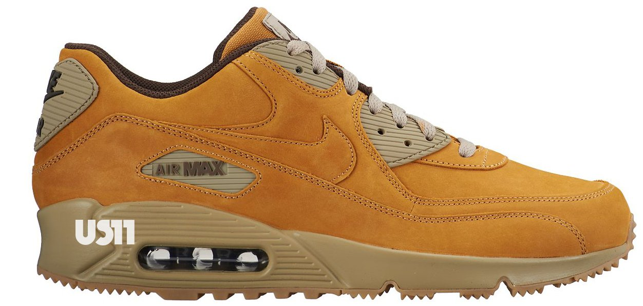 A matching tan has been applied to the sneaker\\u0026#39;s spiked