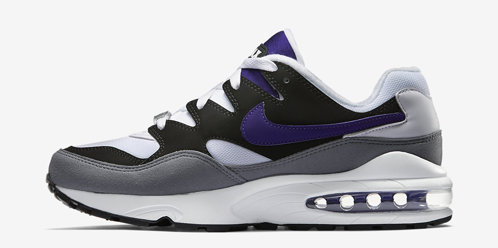 official photos 56ebc 25c0d Nike Air Max 94. Color  Black White-Cool Grey-Court Purple Style  747997-005