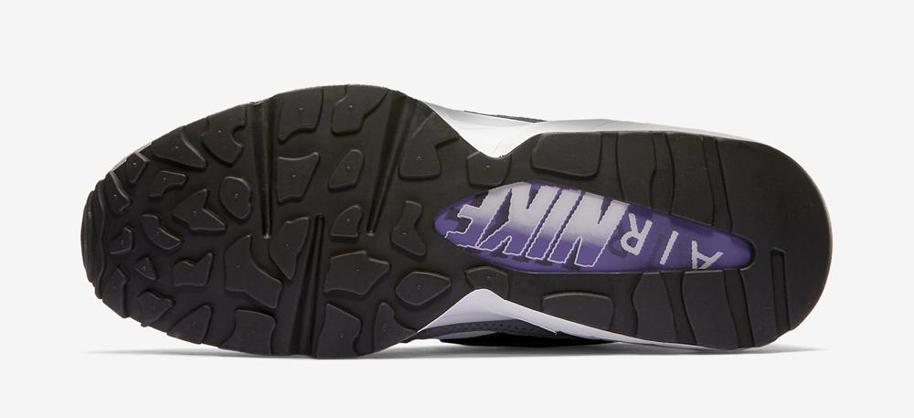 official photos 31b09 d08cf Nike Air Max 94 OG - Black   White-Cool Grey-Court Purple - Air 23 - Air  Jordan Release Dates, Foamposite, Air Max, and More