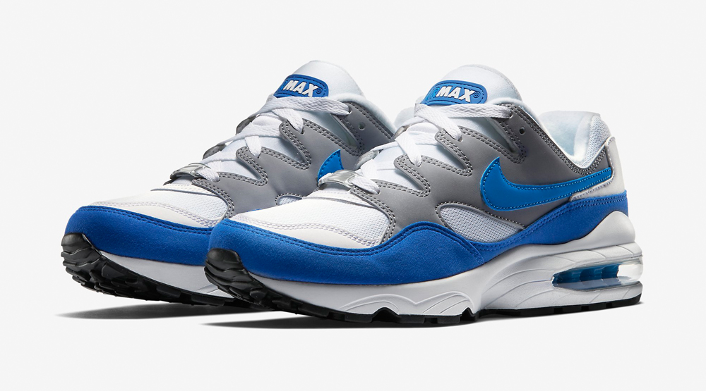 Nike Air Max 94 OG Color: Wolf Grey/White-Game Royal-Photo