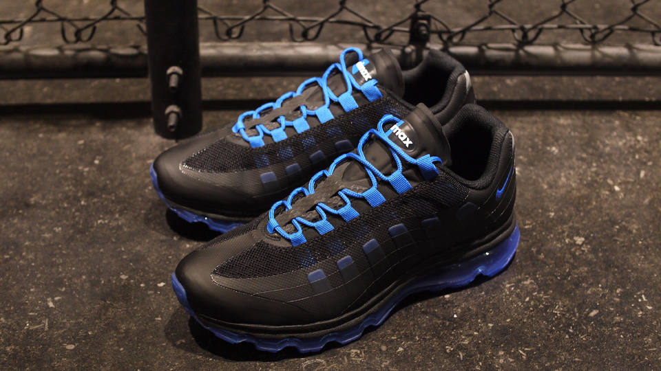 new style 80dfe 968f0 Nike Air Max+ 95 BB – Black Soar-Anthracite