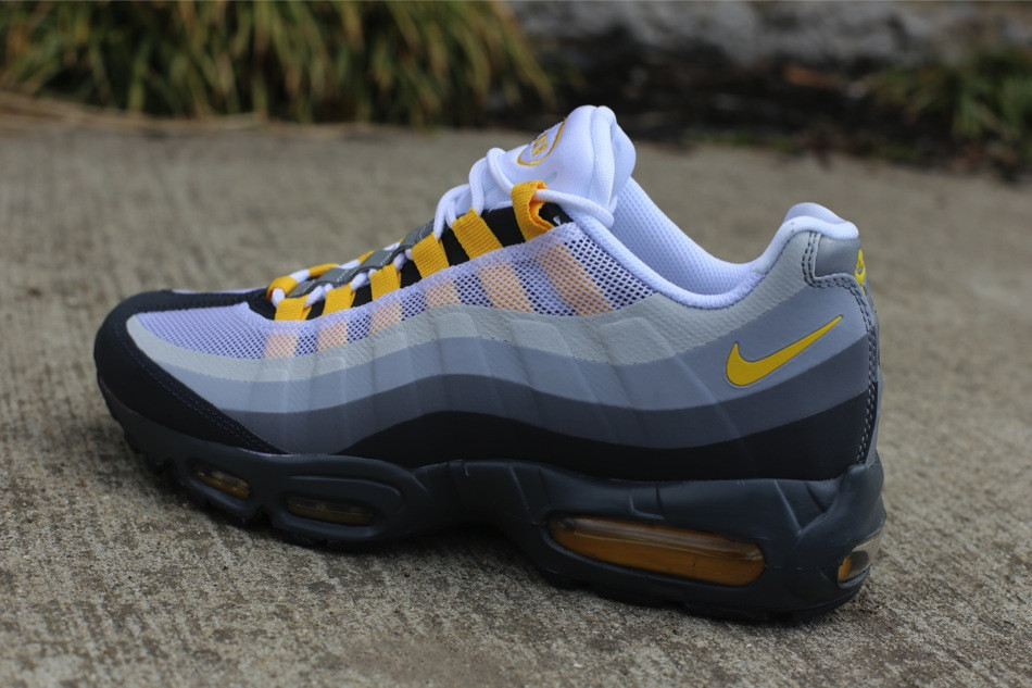 the best attitude 90cdc 1e045 Nike Air Max 95 No-Sew - Anthracite / Varsity Maize - Cool ...