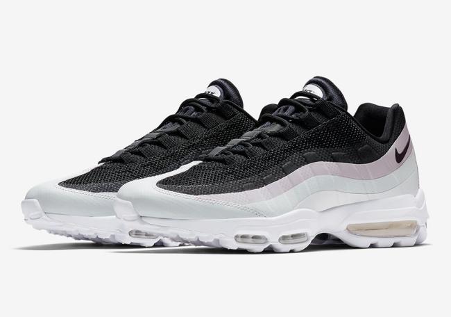 Nike Air Max 95 Ultra Essential Black White Pink Air 23