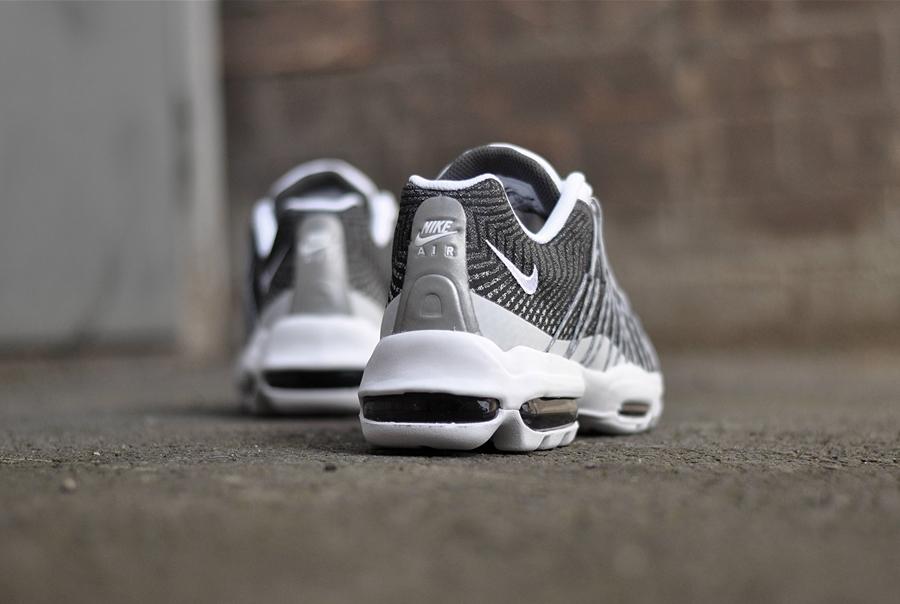 4d0fa36ae2 Nike Air Max 95 Ultra Jacquard - White / White-Wolf Grey-Dark Grey - Air 23  - Air Jordan Release Dates, Foamposite, Air Max, and More
