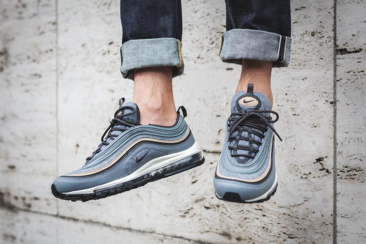 official photos 1c657 35ab1 Nike Air Max 97 Premium Color  Cool Grey Deep Pewter-Mushroom-Sail Style  Code  312834-003. Price   180.00
