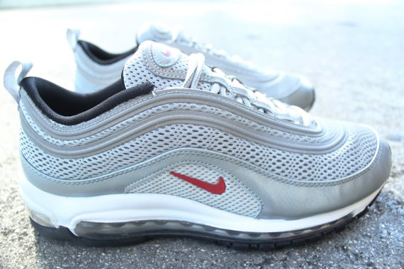 Nike Air Max 97 Premium Color  Metallic Silver Varsity Red-Black Style   554716-060 12 31 2012. Price   155.00 5c0fc8165