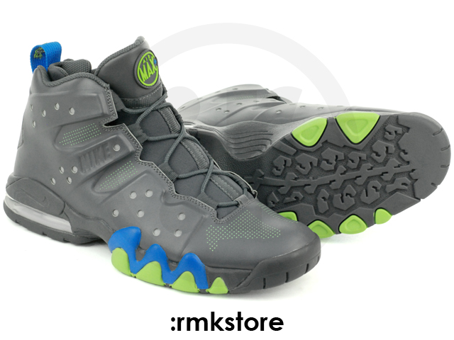 Nike Air Max Barkley - Dark Grey Photo Blue-Action Green e95416e68