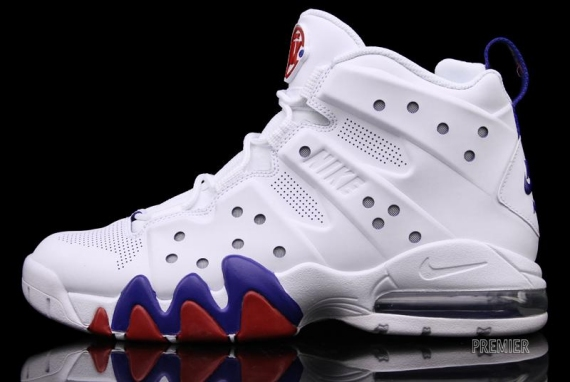 155e2be3e207b6 Nike Air Max Barkley Color  White White-Old Royal-Gym Style  488119-106.  Release        2012. Price   130.00