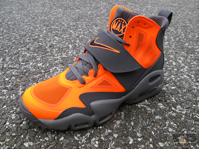 cb6777a626 Color: Total Orange/Dark Grey-Imperial Purple Style: 525224-800. Release:  08/11/2012. Price: $155.00. Nike Air Max Express ...