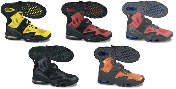 huge discount 1e0f1 5dc1b ... Sport Red Black-Sport Red, Hot Punch Cool Grey-Game Royal, Black Black-Pine  Green, and Total Orange Dark Grey-Imperial Purple. The Nike Air Max Express  ...
