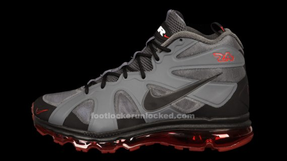 the latest 77ade f069a The Dark Grey  University Red Nike Griffey Air Max Fury will release on  Thursday, May 3, and will retail for  170.