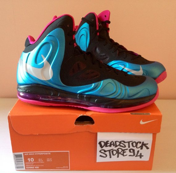a780c7389f10 Nike Air Max Hyperposite Color  Dynamic Blue Reflective Silver-Fireberry  Style  524862-400. Release  08 18 2012. Price   225.00