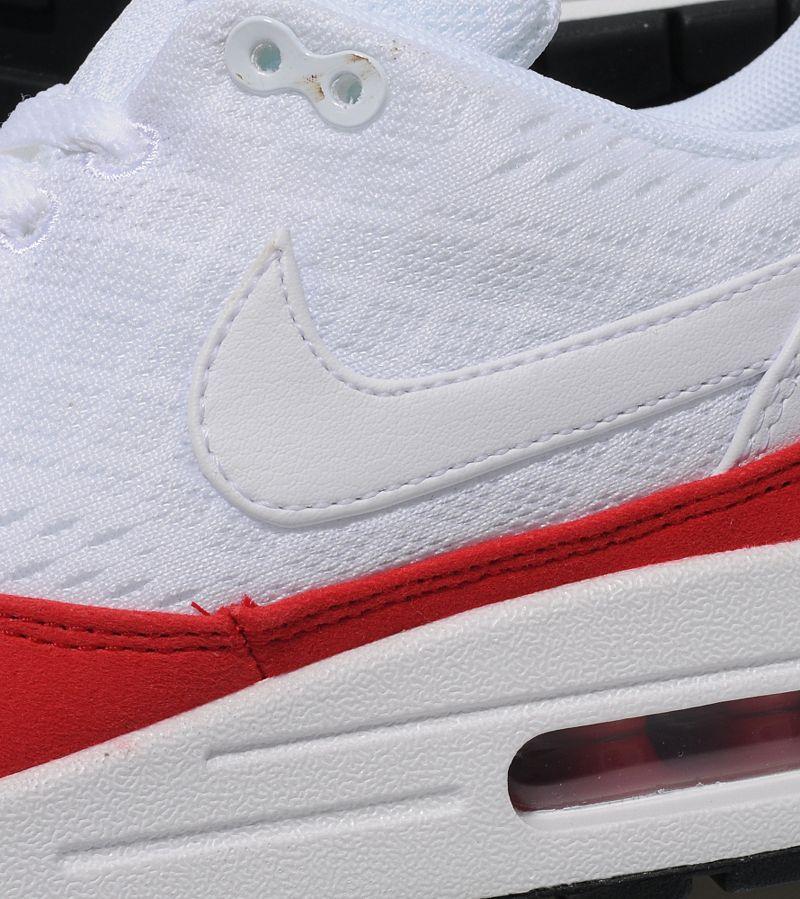 san francisco b0236 72226 Nike Air Max 1 EM - White University Red Available