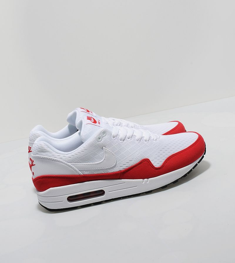 Used Worn Size 12 Nike Air Max 1 EM Shoes Mahogany   Gray ac65380c74