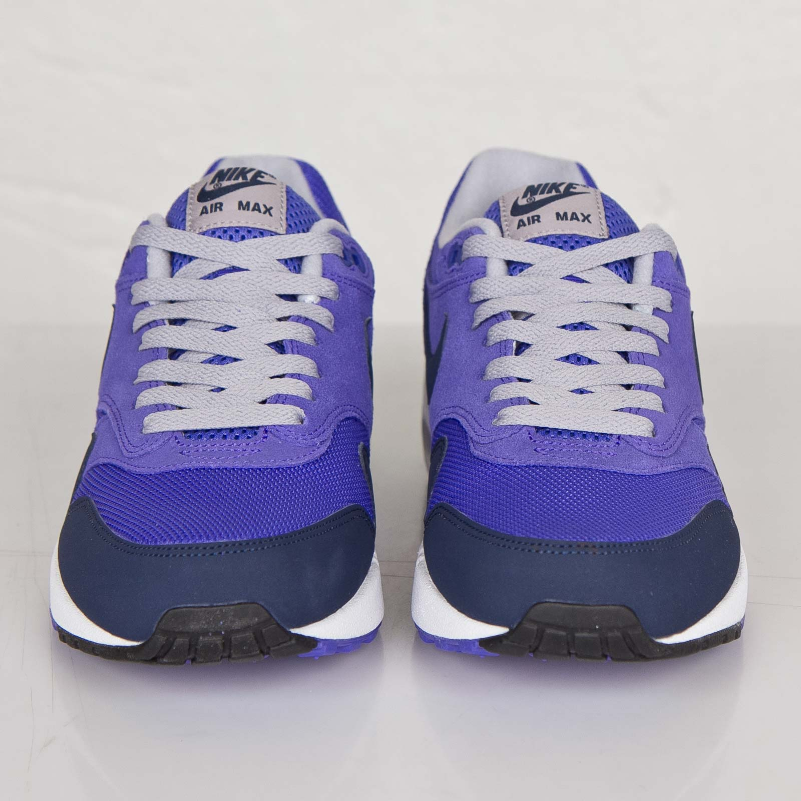 c721f7f20aee Nike Air Max 1 Essential Color  Persian Violet Midnight Navy-Black Style   537383-501. Price   129.00
