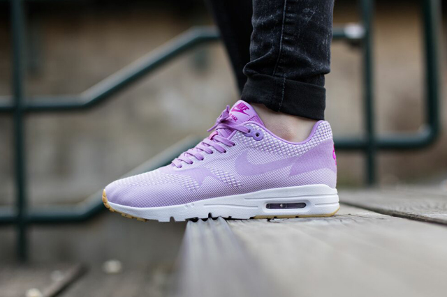 nike air max 1 ultra jacquard pink trainers
