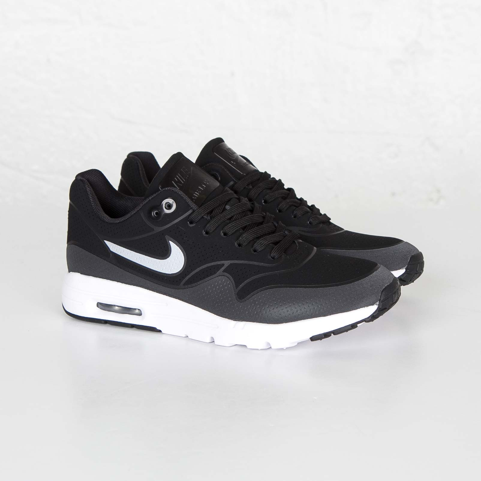 low priced a06d4 abe34 nike womens air max 1 ultra moire. Nike Wmns Air Max 1 Ultra Moire Color   Black Black-Metallic Silver-White