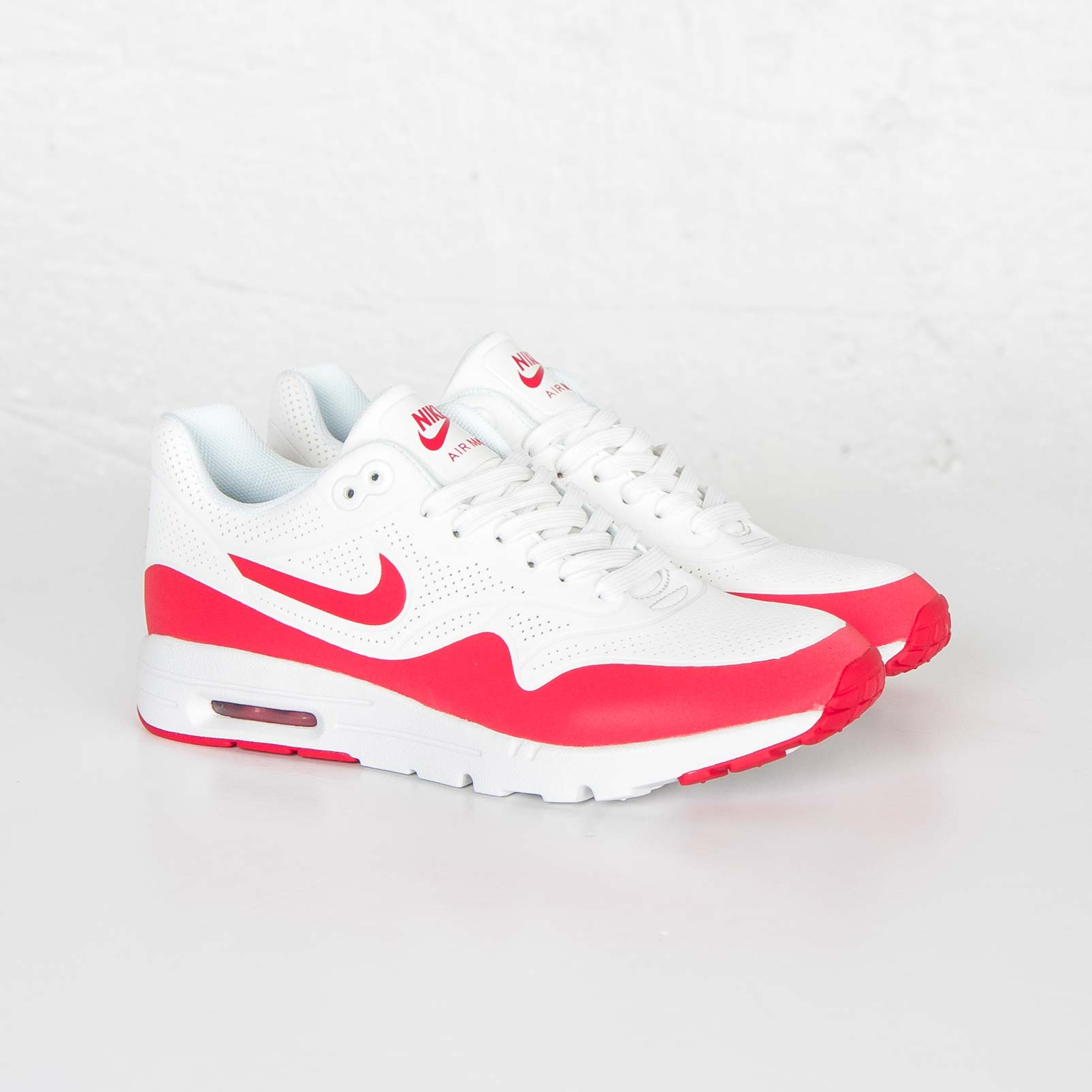 nike womens air max 1 ultra moire university red air 23. Black Bedroom Furniture Sets. Home Design Ideas