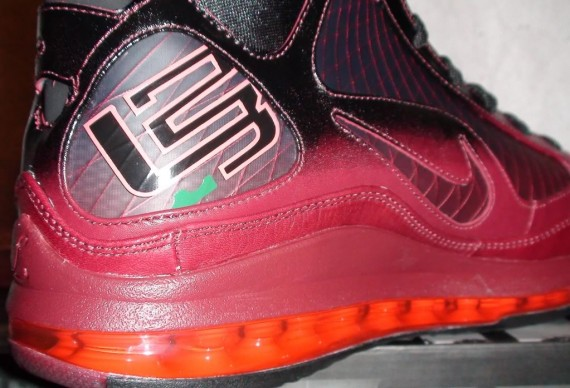 "6bc3fac8965 Nike Air Max Lebron VII 7 Low Rumor Pack ""Browns"" What If VNDS size 10.5"