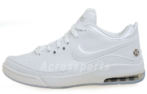 aac97ccabdc60 Nike Air Max Lebron VII Low White Metallic Silver - Air 23 - Air ...