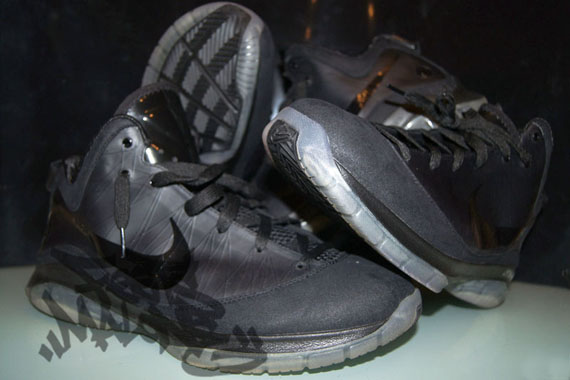 5f130cfda48ff Nike Air Max LeBron VII P.S. Black Wear Test Samples - Air 23 - Air ...