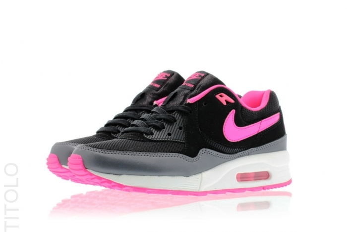 Nike air max black and light pink