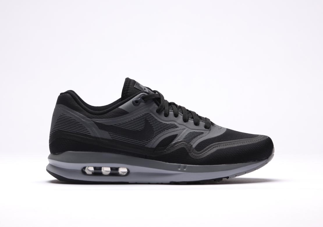 nike air max lunar 1 black black dark grey air 23. Black Bedroom Furniture Sets. Home Design Ideas