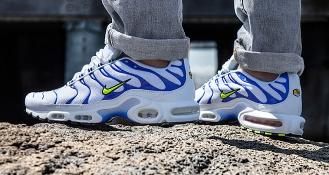 more photos 70a18 925e7 closeout the nike air max plus gets a hvid tiger colorway ...