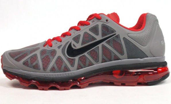 nike air max grey red