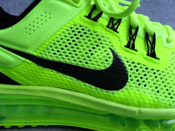 lime green nike air max 2013