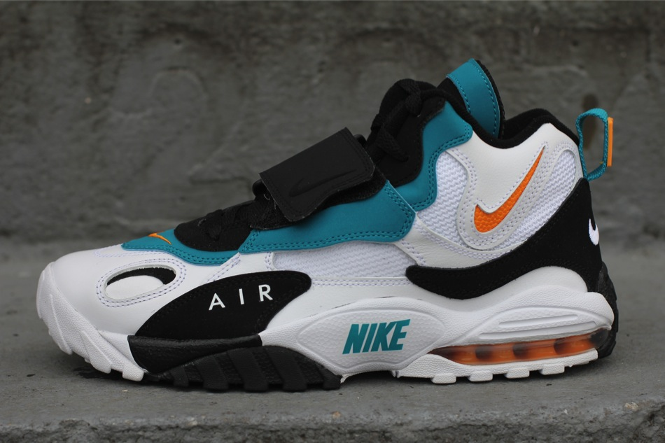 nike air max speed turf dolphins retro jerseys