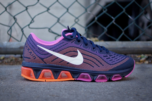 womens nike air max tailwind 7 purple orange