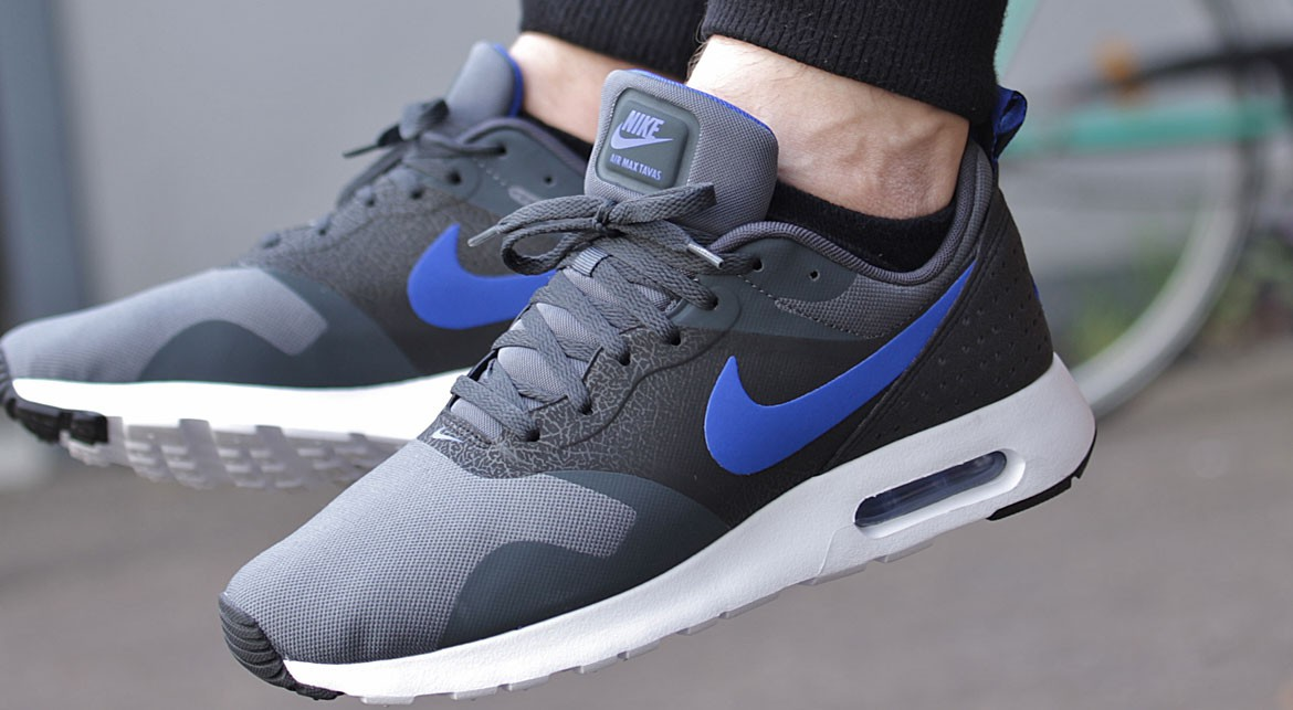 3aa1fdced1 Nike Air Max Tavas - Dark Grey / Game Royal - Air 23 - Air Jordan ...