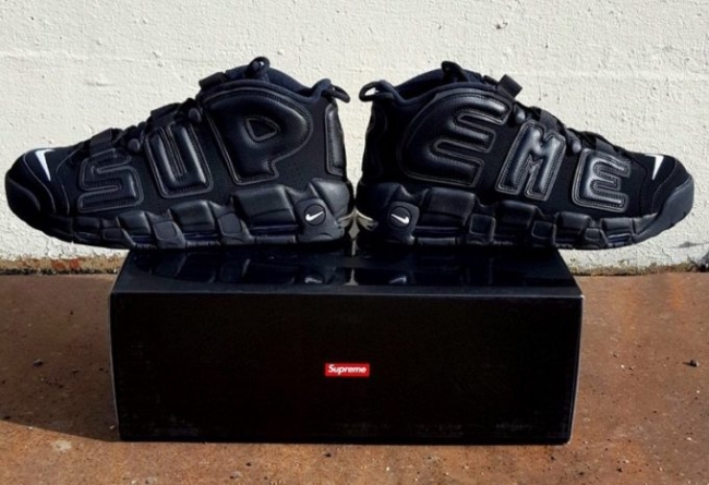 nike x supreme air more uptempo