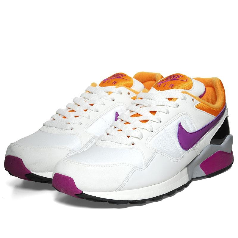 Nike Air Pegasus '92. Color: Summit White/Bold Berry-(Goldenrod?) Style:  414238-104