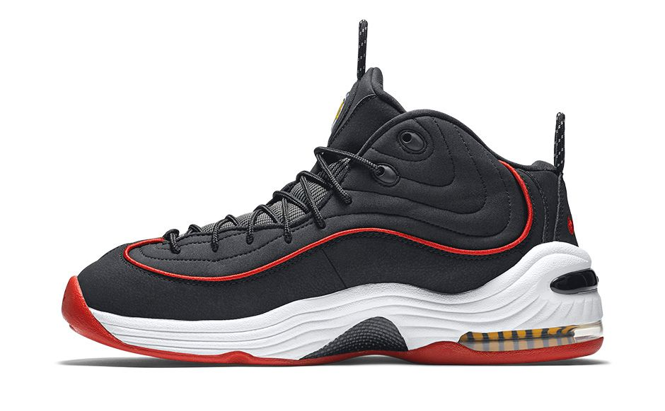 sale retailer 3ad01 c89eb Nike Air Penny II - Black   University Red-White - Air 23 - Air Jordan  Release Dates, Foamposite, Air Max, and More