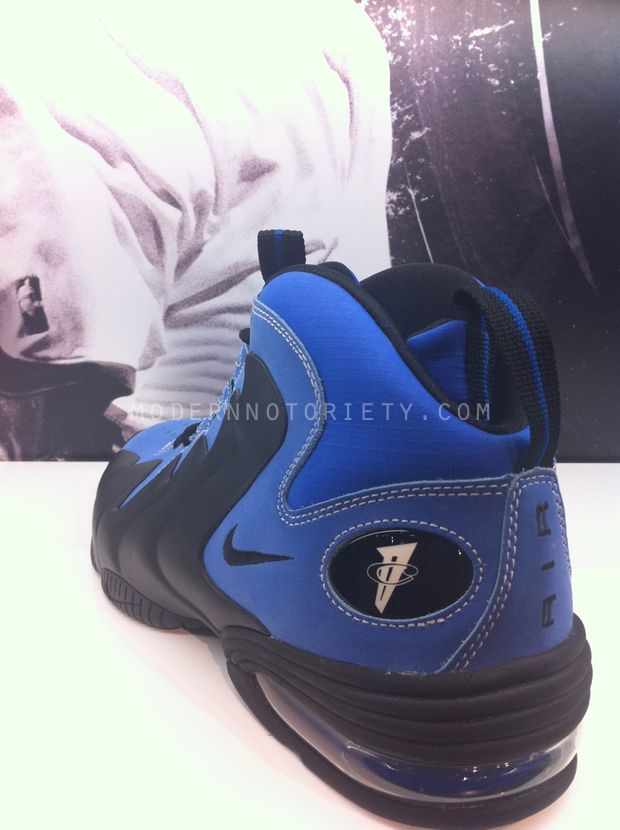 new style 808e0 31a74 Nike Air Penny 3 Ripstop – Black Royal Blue