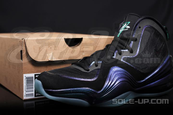 "best website 0f2e4 7a2e5 Nike Air Penny V ""Eggplant"" New Images, Release Info"