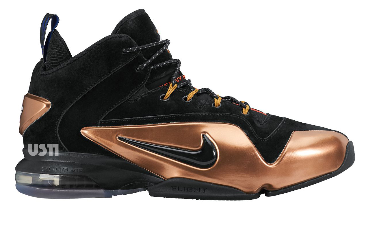 """new style 65b12 ca3a3 Nike Air Penny 6 """"Black Copper"""" Release Date"""