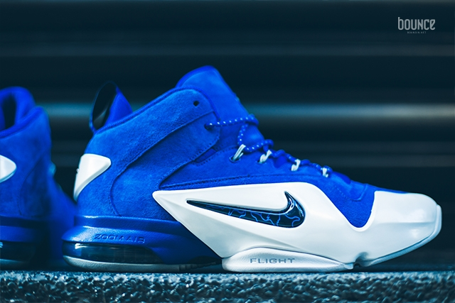 cd84a8665cbc Nike Air Penny 6 (VI) Color  Game Royal Black-White Style  749629-401.  Release Date  11    2015. Price   185.00