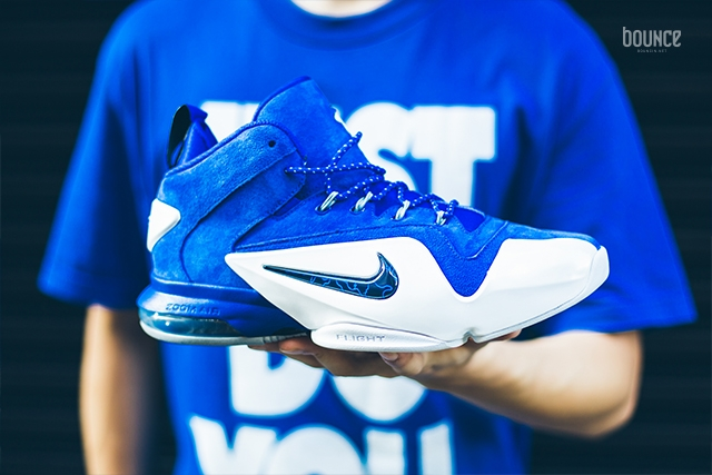 the latest 33be5 e225b Style  749629-401. Release Date  11    2015. Price   185.00. Nike Air Zoom  Penny VI 6 Game Royal Blue Black White Size 8