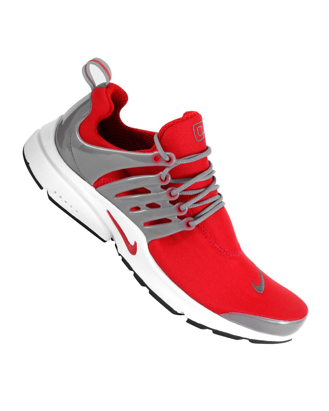 Nike Air Presto - Sport Red Cool Grey-White 8b81c813fe
