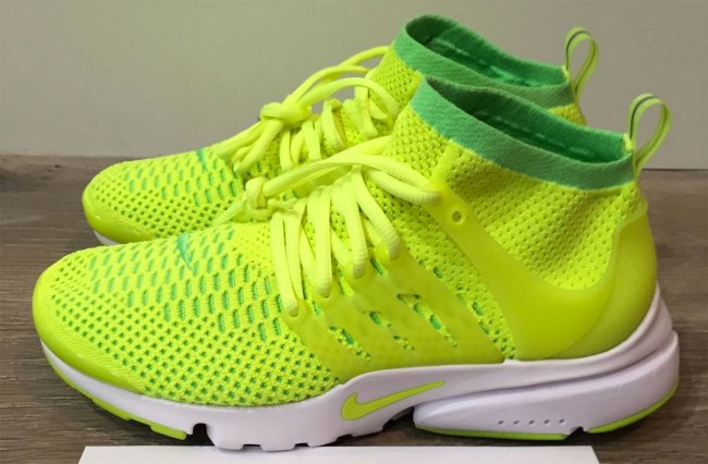 watch 2fc1d 4c47a Expect to see the Nike Womens Air Presto Flyknit Ultra Voltage Green  release along with many other colorways early next year.
