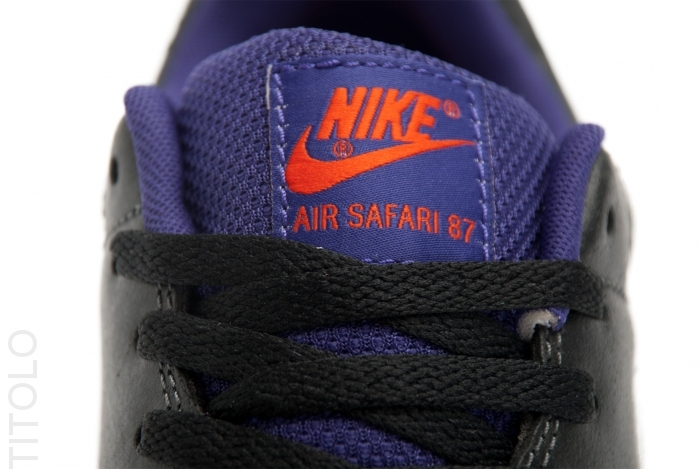 ffcb531b86e7e1 Nike Air Safari Color  Anthracite White-Black-Court Purple Style  371740-015