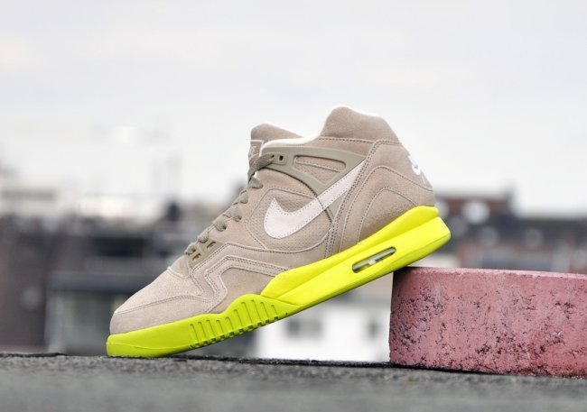 53674112235d Nike Air Tech Challenge II (2) Color  Bamboo Bamboo-Venom Green-Soft Pearl  Style  644767-220