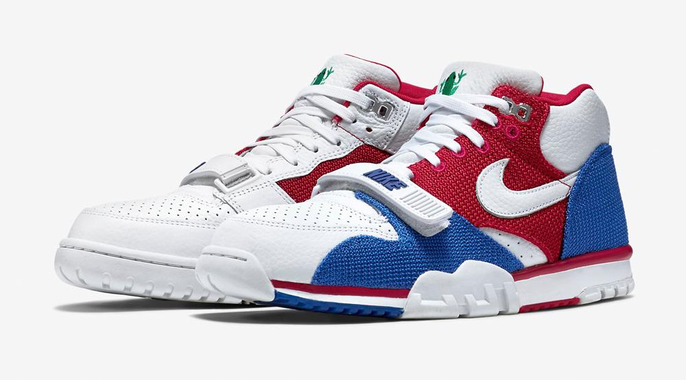"best sneakers 418ff c6cdf Nike Air Trainer 1 ""Puerto Rico"""